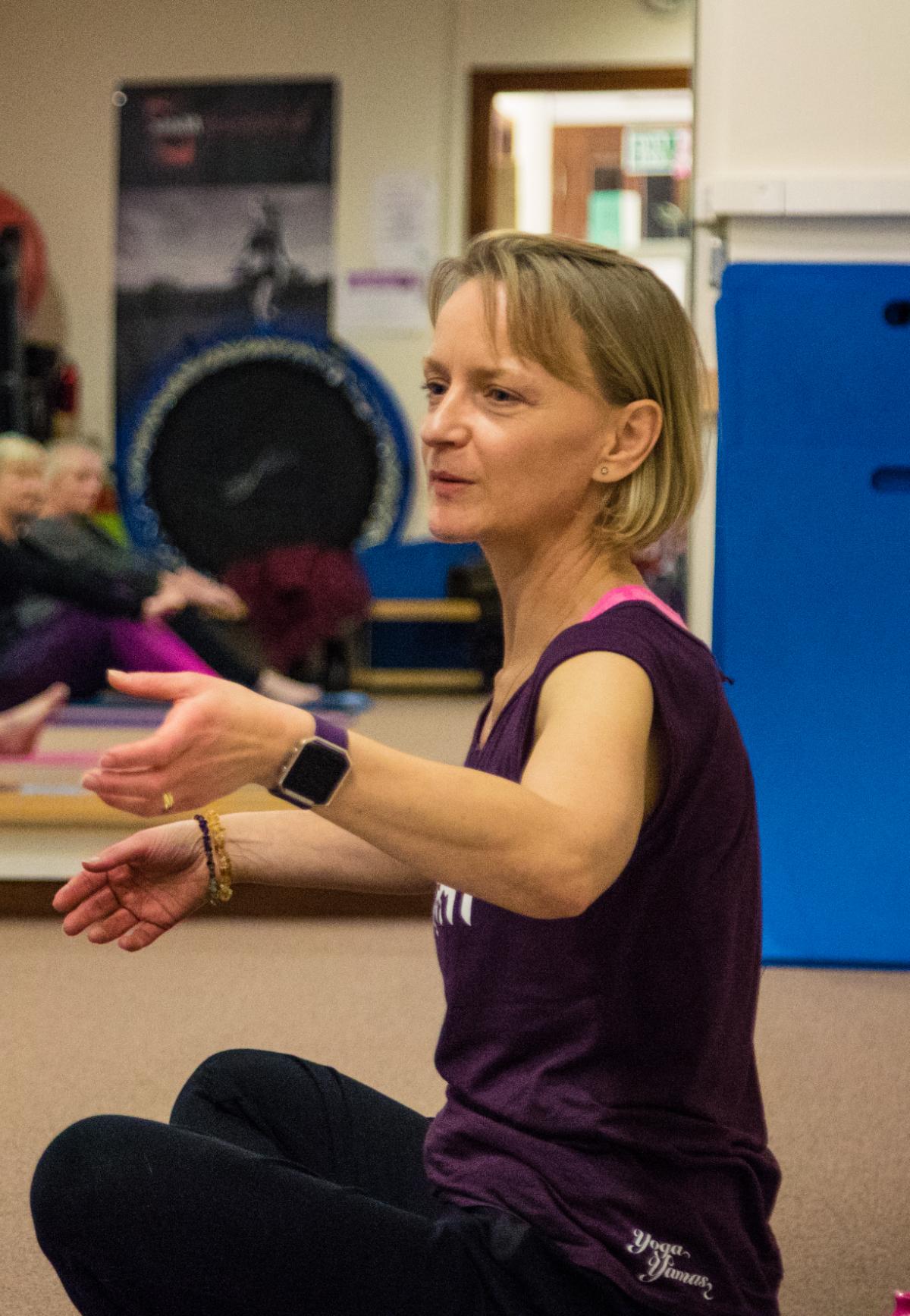 Pamela Johnson Yoga Teacher